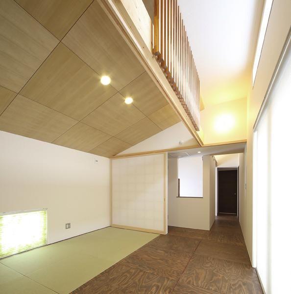 畳コーナーのある洋室(S邸・クライミングウォールのある、家族の笑顔 ... その他事例:畳コーナーのある洋室(S邸・クライミングウォールのある