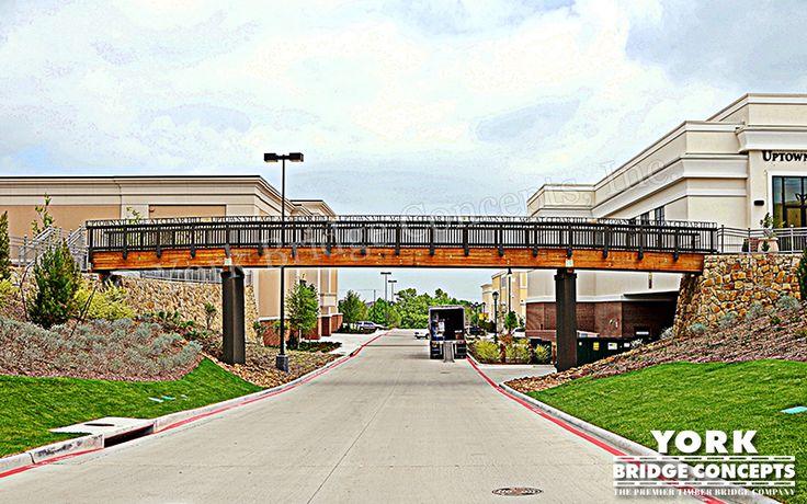 Timber Overpass Bridge: Uptown Village Mall - Dallas, TX