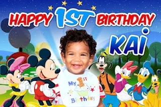 Mickey Mouse Club House Birthday Banner