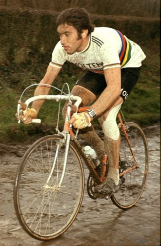 """wafflesandsteel.com blog - """"A Sunday in Hell"""" Paris-Roubaix 1976: """"Ah Eddy"""", as a young girl -- the man that captured my heart for pro cycling."""