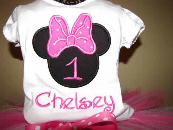 Minnie Mouse Doğum Günü Tutu Seti (2)