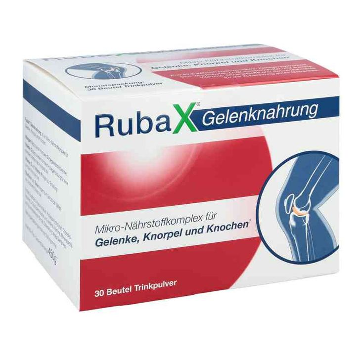 Rubax Gelenknahrung 30 stk kaufen bei der Online Apotheke. Wir liefern als Versandapotheke Medikamente zu günstigen Preisen. Einfach und sicher online in der Apotheke bestellen.