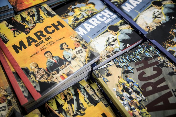 'March: Books 1-3' by Representative John Lewis, Andrew Aydin and Nate Powell