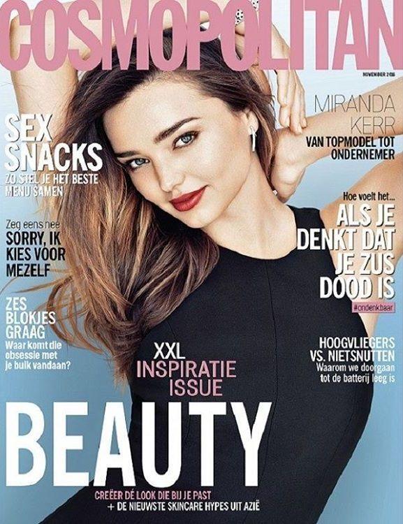 Miranda Kerr - Cosmopolitan Magazine Cover [Netherlands] (November 2016)