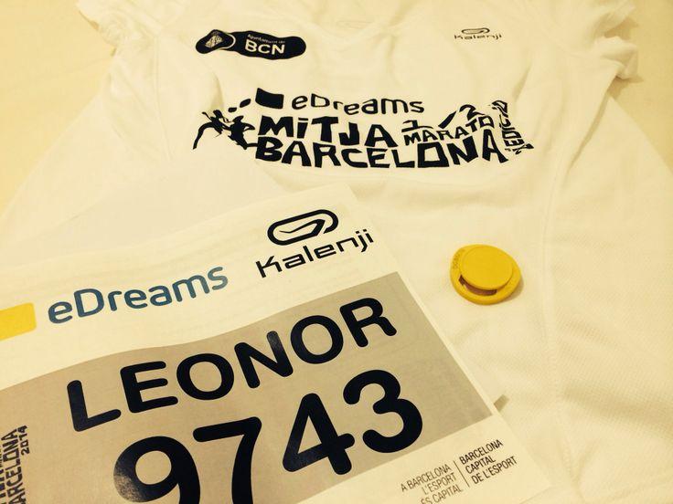 Half marathon Barcelona 2014