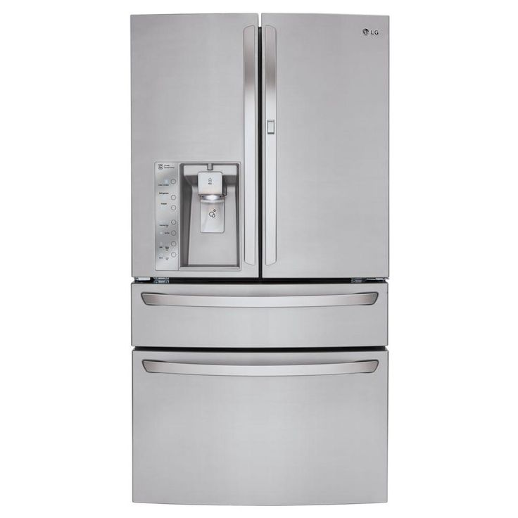 LG Electronics 29.7 cu. ft. French Door Refrigerator with Door-in-Door and CustomChill Drawer in Stainless Steel-LMXS30776S - The Home Depot