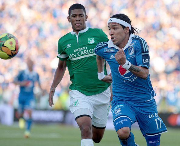 Club Deportivo Los Millonarios con intenciones de quedarse con Dayro Moreno.