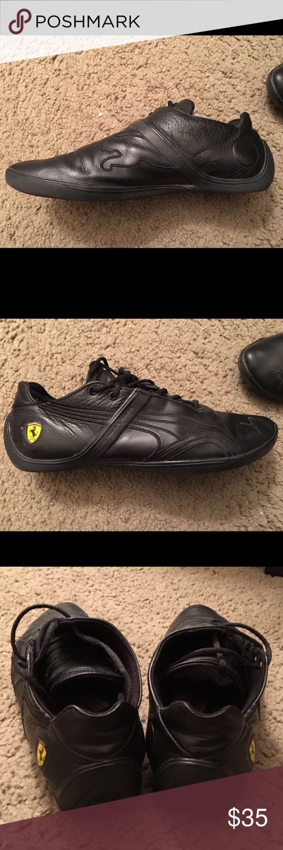 Ferrari shoes Used couple times only in a good condition paid over 100$ for this from puma website Puma Shoes