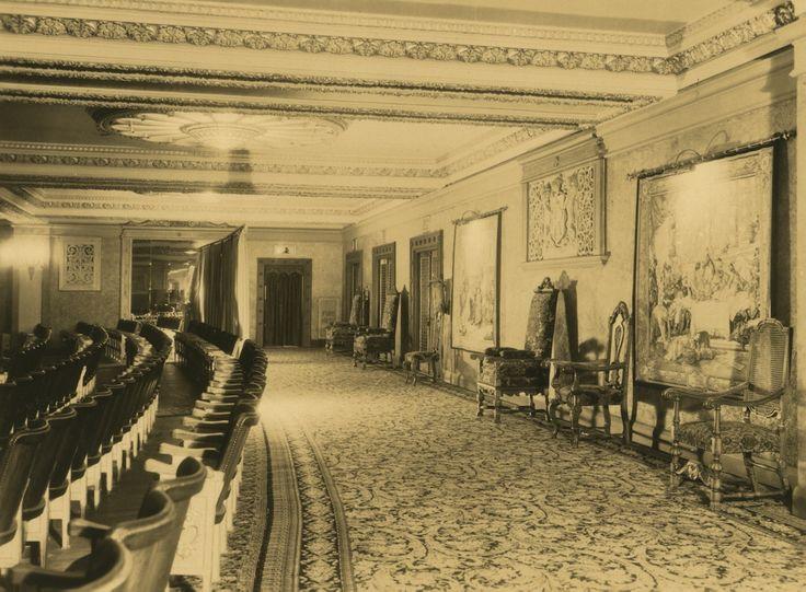 Dress Circle Of Regent Theatre Melbourne 1929
