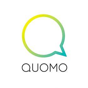 QUOMO(クオモ)のロゴ:ネーミングにはない部分を伝えるロゴ | ロゴストック