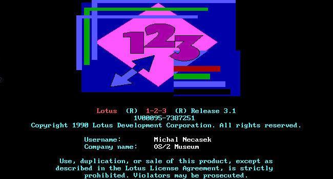 Lotus 1-2-3. Clásicos del software (X) http://www.genbeta.com/p/69059