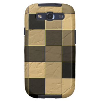 Many square abstract pattern give it a trendy and decorative looks. With dark and light colors. You can also Customized it to get a more personally looks.