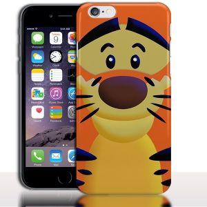 Coque iPhone 7 Tigrou Doudou|iPhone 7, iPhone 7 Plus|Rigide, Silicone, Etui portable