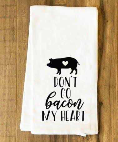 Don't Go Bacon My Heart Thankful and Blessed Farmhouse Wood Sign SVG and DXF EPS Cut File • Cricut • Silhouette Vector • Calligraphy • Download File • Cricut • Silhouette Cricut projects - cricut ideas - cricut explore - silhouette cameo By Kristin Amanda Designs
