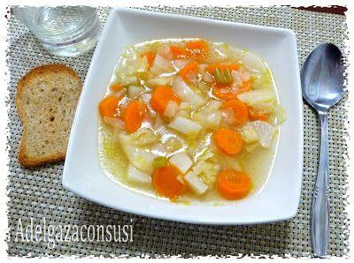 Recetas Light - Adelgazaconsusi: Sopa de verduras depurativa