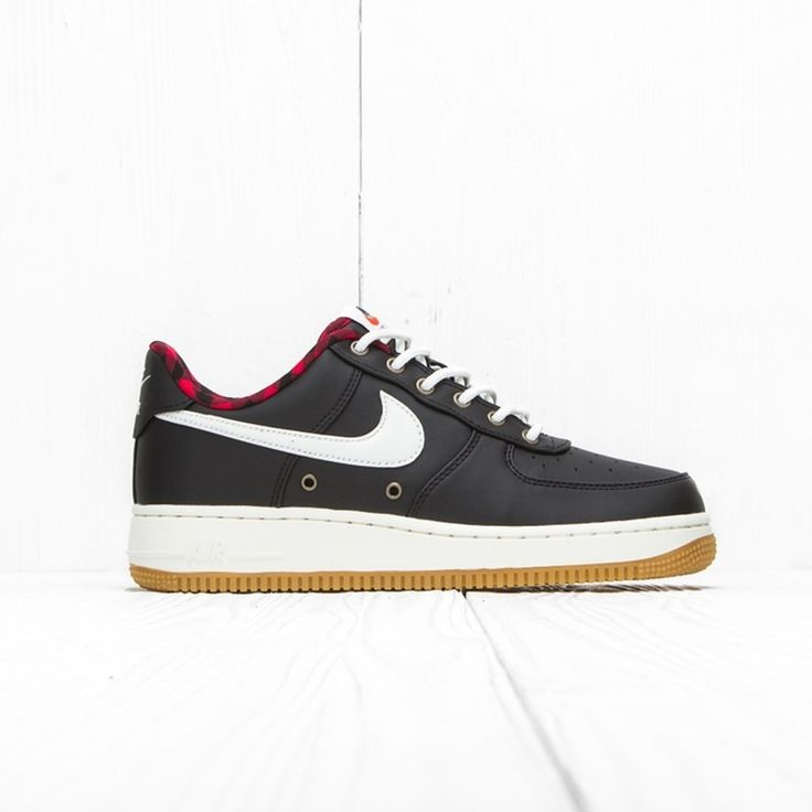 Nike Nike Air Force 1 07 Lv8 Black/Sail Action Red Gum Light Brown 718152 015 11 Us Size 11 $192 - Grailed