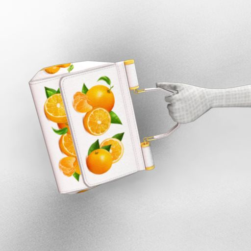 Oranges and Blossoms Handbag