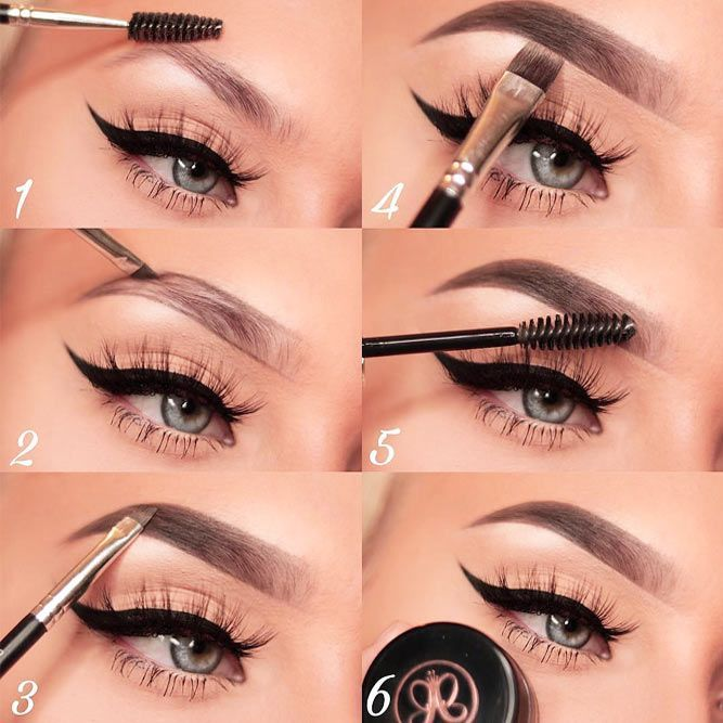 How To Fill In Eyebrows Like A Pro Makeup Inspirations