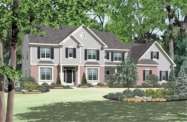 .: Future Stuff, Dreams Home, Dreams Houses, Farmhouse Floorplan, Houses Plans, American Houses, Future Things, Garage Bays, House Plans