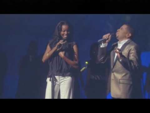 """Smokie Norful & Heather Headley ministering the song """"Jesus Is Love"""" from Smokie Norful's live DVD, """"Smokie Norful Live""""."""
