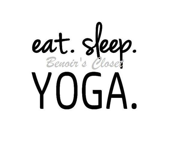 Eat Sleep Yoga Svg File Vector Cricut Silhouette Instant Etsy Eat Sleep Yoga Svg Cricut