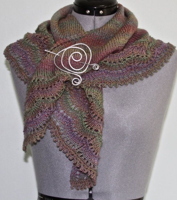 Beautiful lace shawl - wear in many different ways!