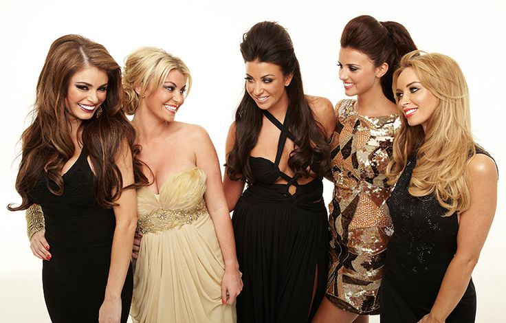 The lovely TOWIE girls. Glamour overload!