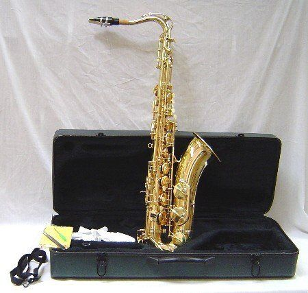 Crystalcello CWD420 B Flat Lacquer Plated Tenor Saxophone and Accessories  http://www.instrumentssale.com/crystalcello-cwd420-b-flat-lacquer-plated-tenor-saxophone-and-accessories-2/