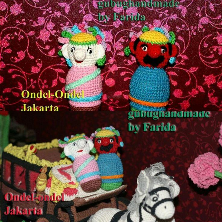 ondel-ondel (tradional doll from Jakarta)