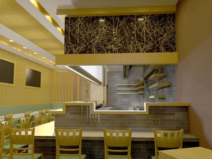 Japanese Restaurant   Interior Design Portfolio ...