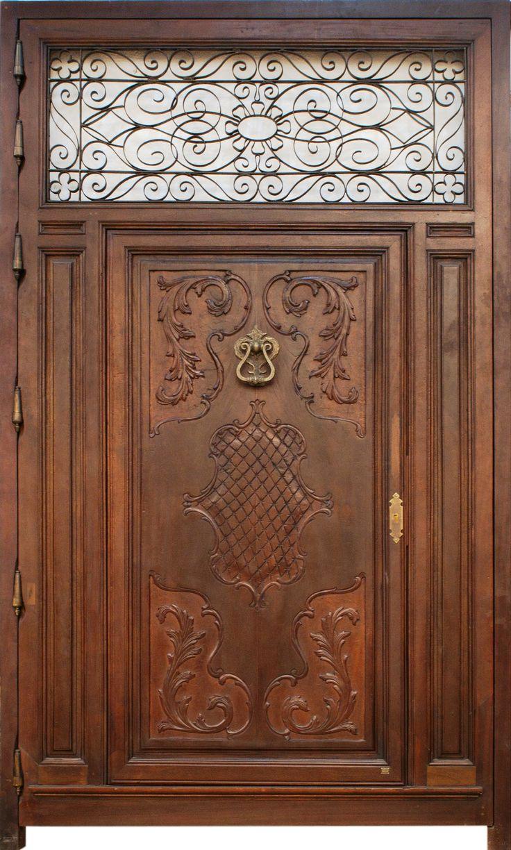 AC-116 - Conely | Puertas de madera, metal y forja, rústicas, artesanales. Decoración.