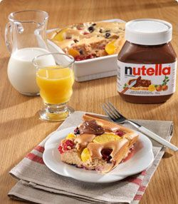 Toad in the Hole aux fruits et au NUTELLA®