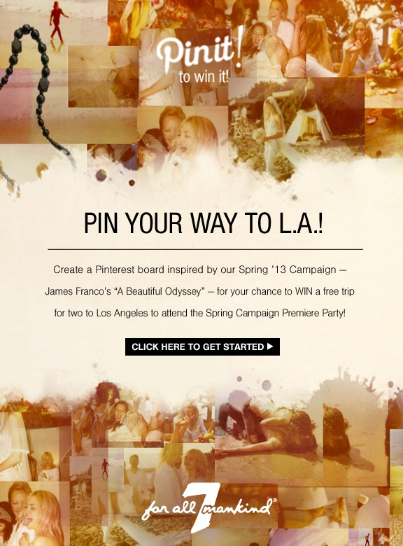 Pin your way to LA! #BeautifulOdyssey contest