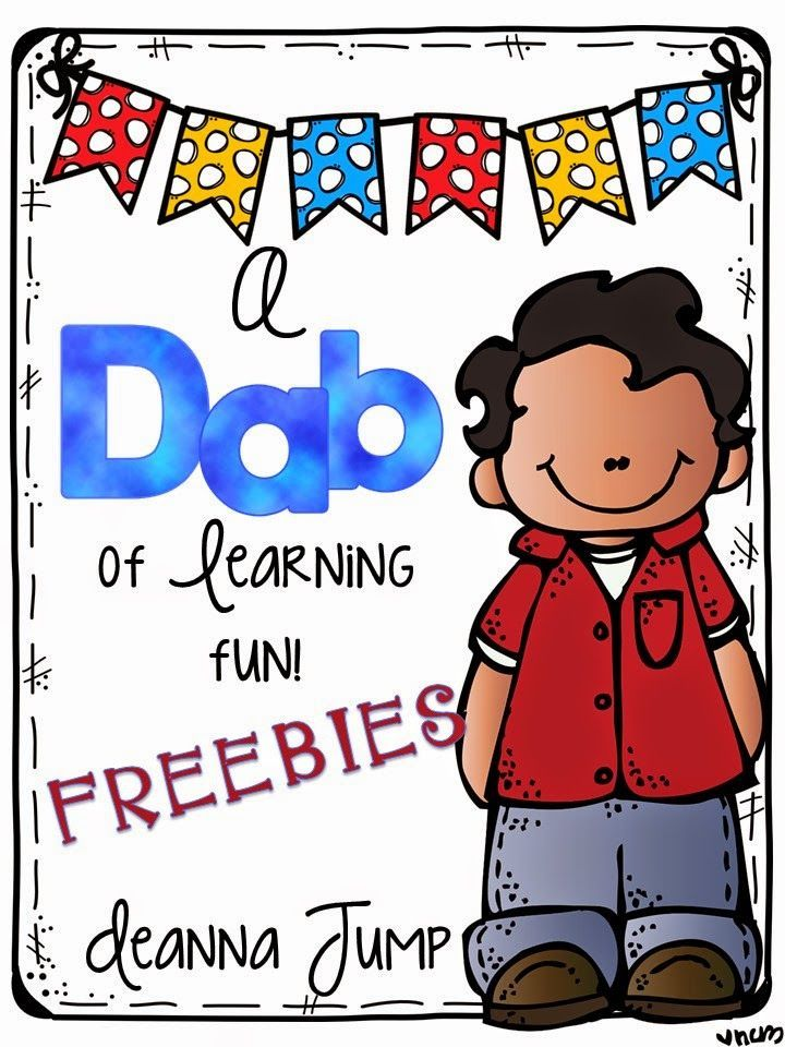 A Dab of Learning Fun {FREEBIES} practice and review basic skills.The pages in this packet cover a wide variety of skills so they can be used throughout the year.