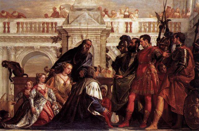 Η οικογένεια του Δαρείου ενώπιον του Αλεξάνδρου (1567~70)