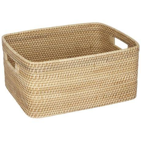 Talia Rectangle Storage Basket | Freedom Furniture and Homewares