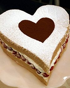 Valentine CakeValentine'S Day, Cake Recipe, Valentine Day, Valentine Cake, Heart Shape, Cake Ideas, Heart Cake, Martha Stewart, Whipped Cream