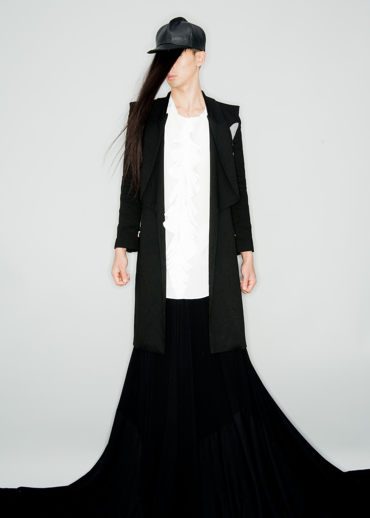 TAKASHI NISHIYAMA 2012 mens collection look
