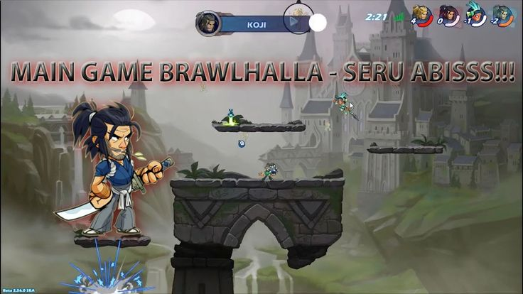 MAIN GAME BRAWLHALLA -  SERUU ABISS!!!