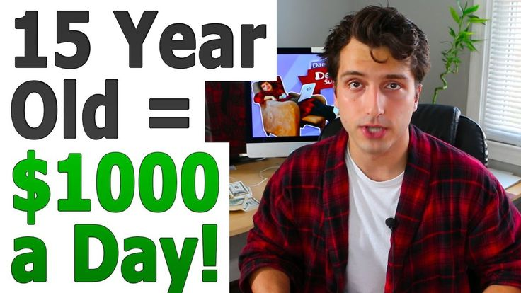 How to Make $1000 a Day Online at 15 or 16 Years Old - WATCH VIDEO here -> http://makeextramoneyonline.org/how-to-make-1000-a-day-online-at-15-or-16-years-old/ -    In this video, I talk about how I made $1000 dollars a day online when I was 15-16 years old through my web hosting company. I also talk about other thousand dollar per day online business models I've successfully implemented and had success with. I also recommend my favorite model,...