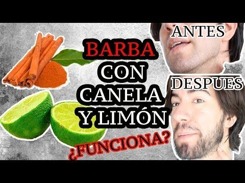 Consejo para Crecer la barba   Canela con Limón   Jonh Arreola - YouTube