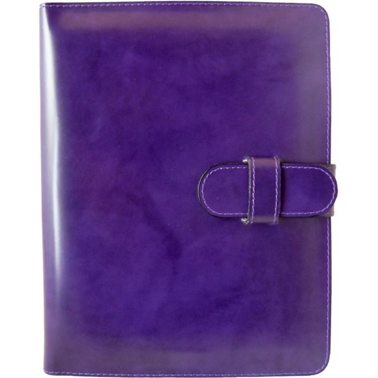 Violet  #iPad leather cover by Pratesi Made in Italy