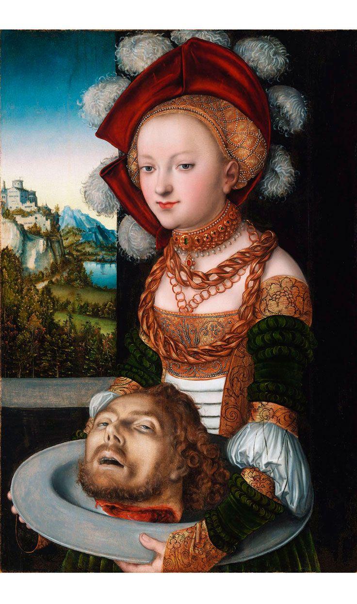 Lucas Cranach the Elder • Salome with the Head of Saint John the Baptist, 1530s