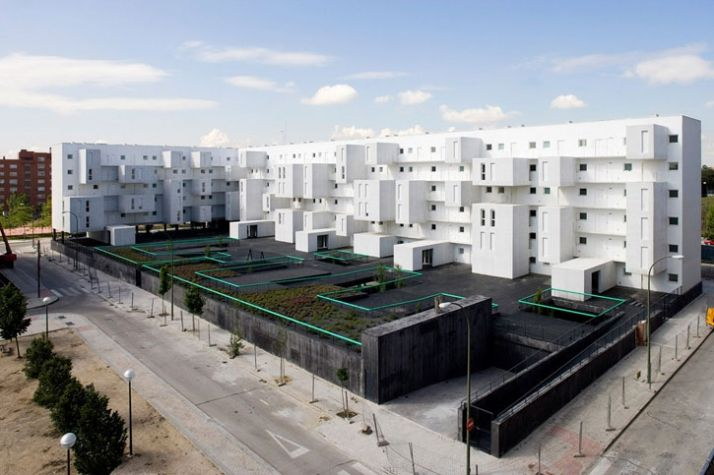 Carabanchel Housing in Madrid | Yatzer