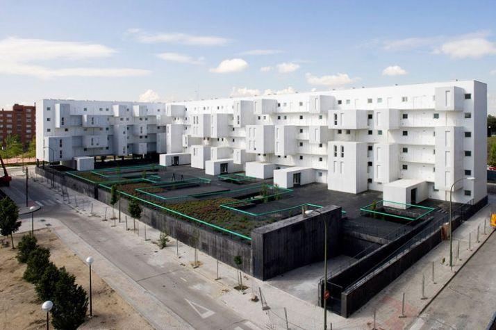 Carabanchel Housing in Madrid   Yatzer