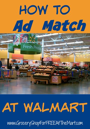 How to Save Money by Price Matching at Walmart! | Grocery Shop For FREE at The Mart!!