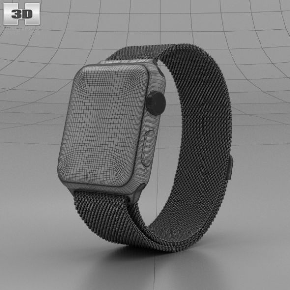 Apple Watch Series 2 42mm Space Black Stainless Steel Case Black Milanese Loop Apple Watch Series 2 Apple Watch Series Buy Apple Watch
