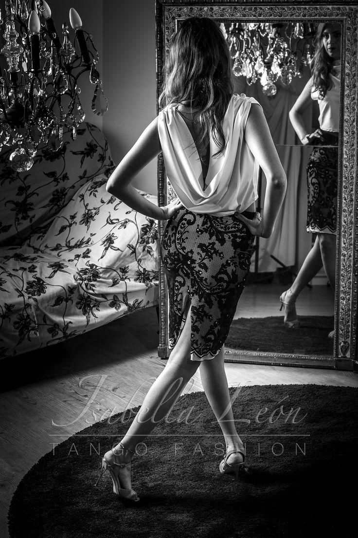 Laura dressed for Tango#tango shoes#tango#schuhe