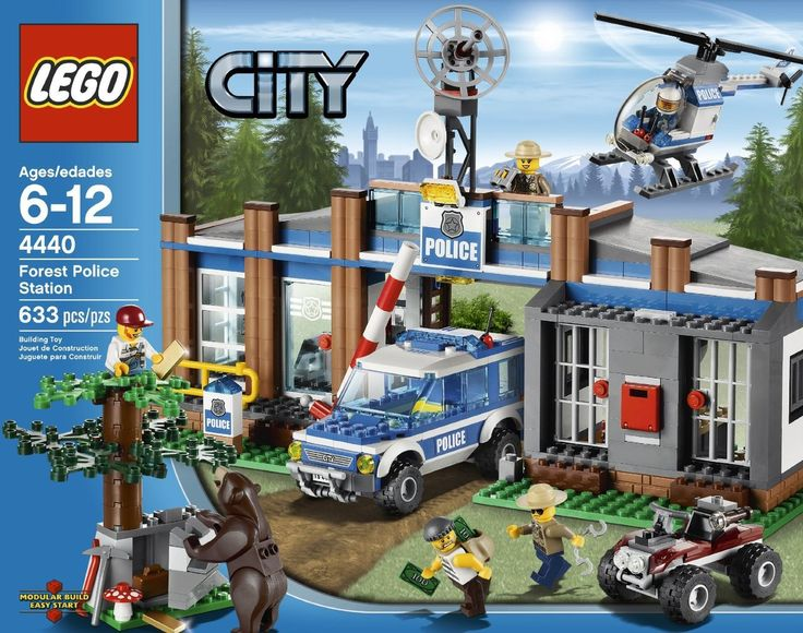 LEGO City Police Forest Station 4440 - Discount Toys USA