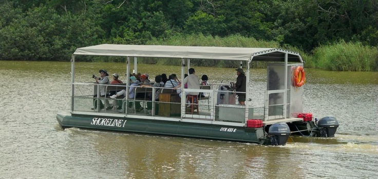 Shoreline Hippo and croc boat safaris St Lucia South Africa